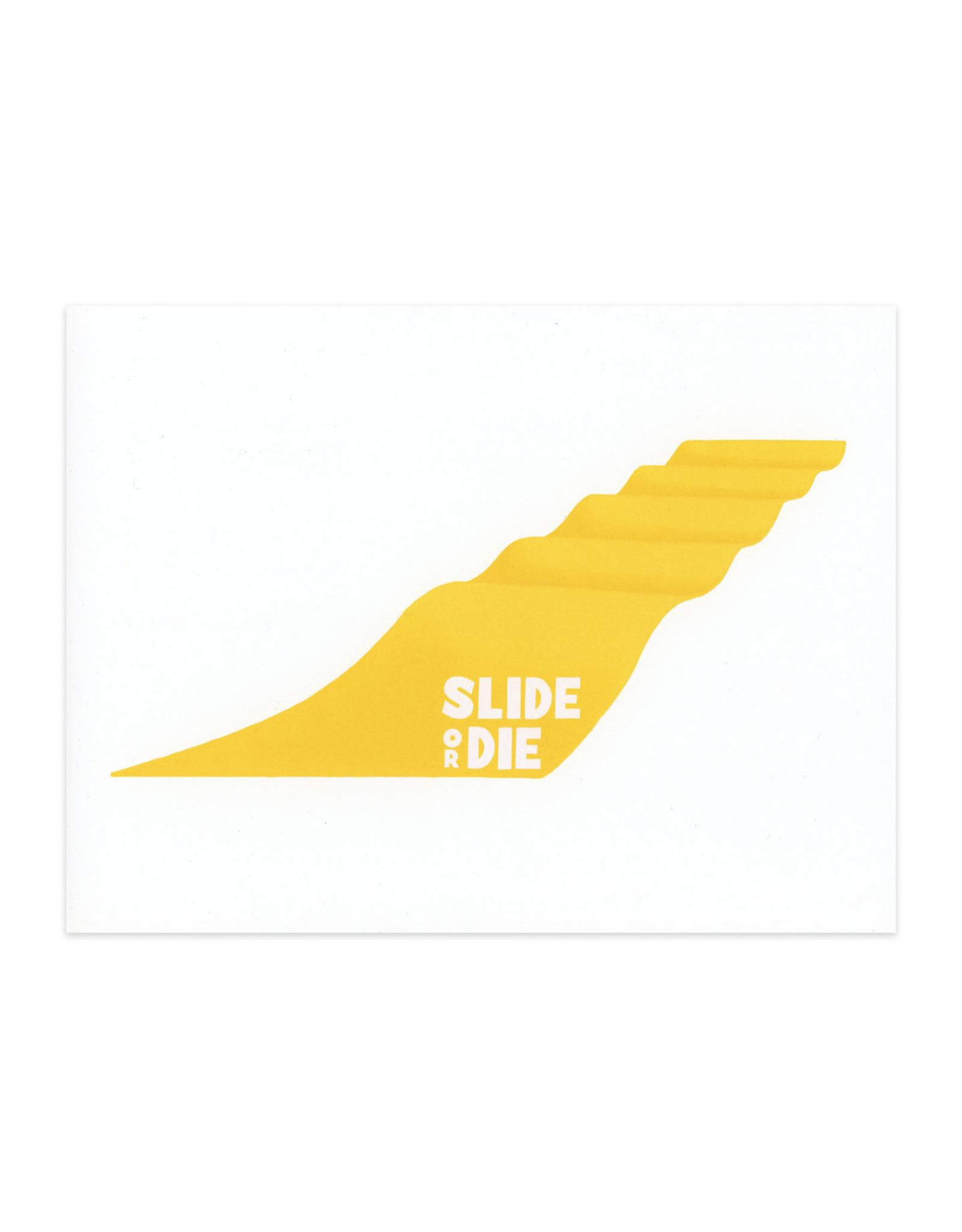 Big Yellow Slide Print