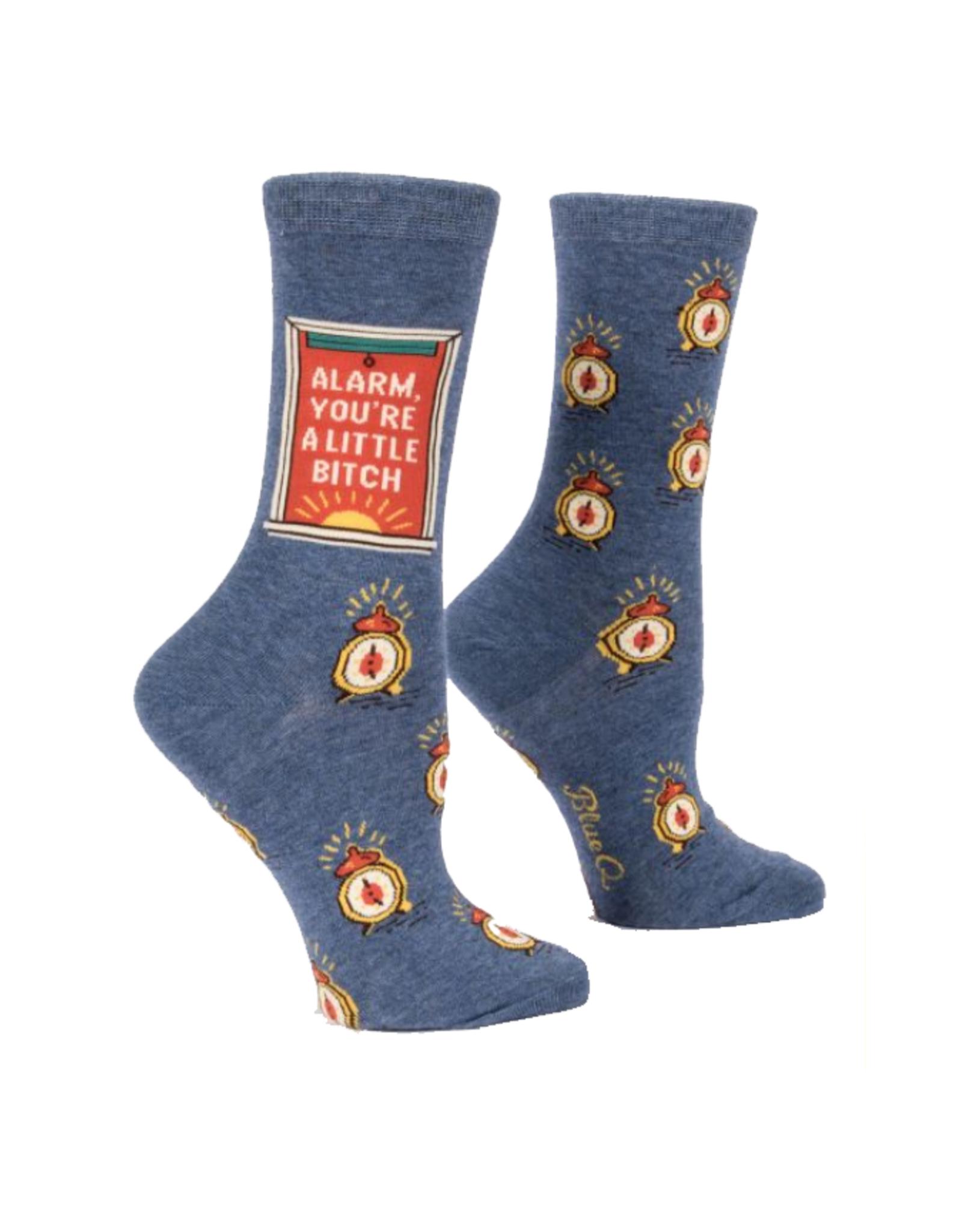 Alarm, You're A Little Bitch Women's Crew Socks