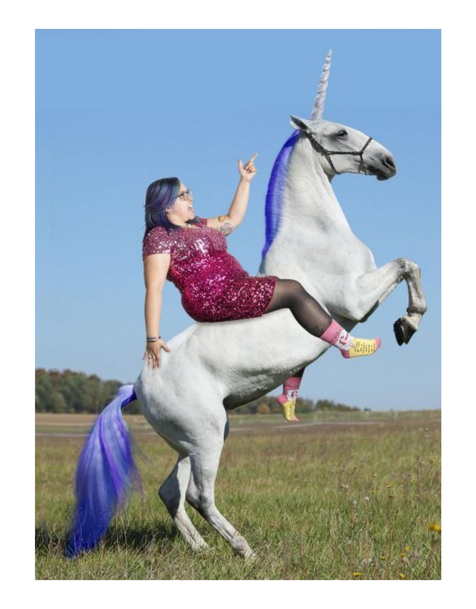 Always Be A Unicorn Women's Crew Socks