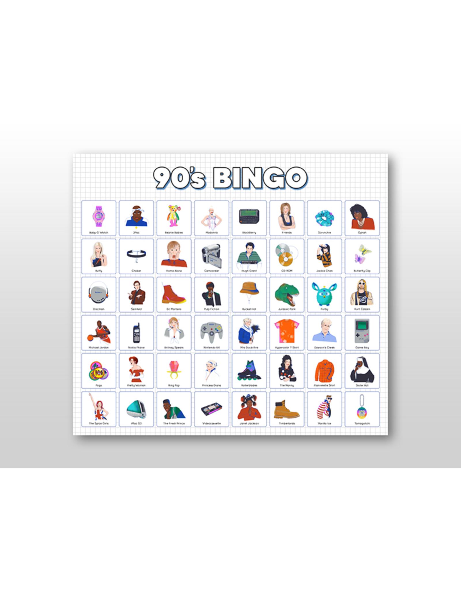 90s Bingo