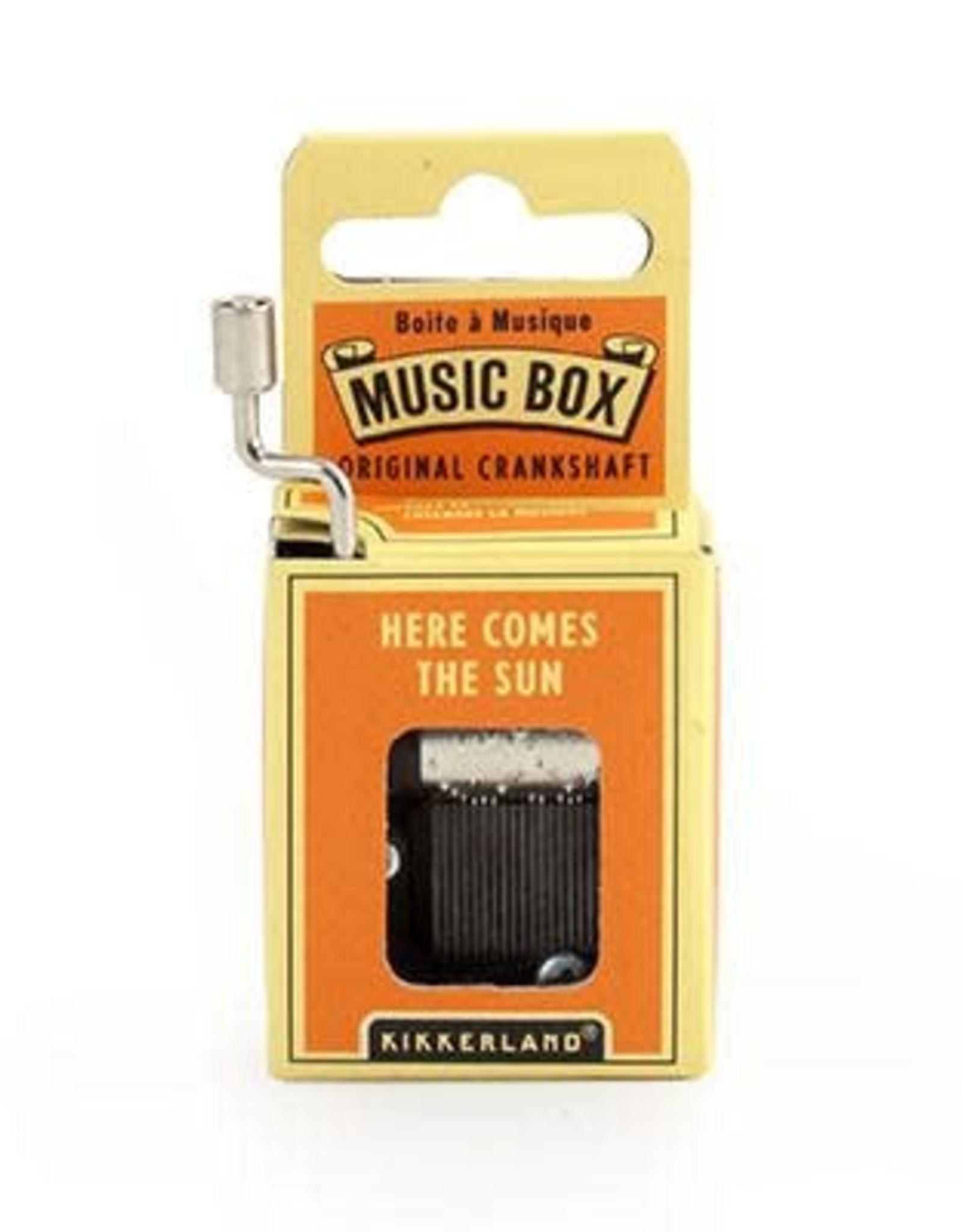 Here Comes The Sun Music Box