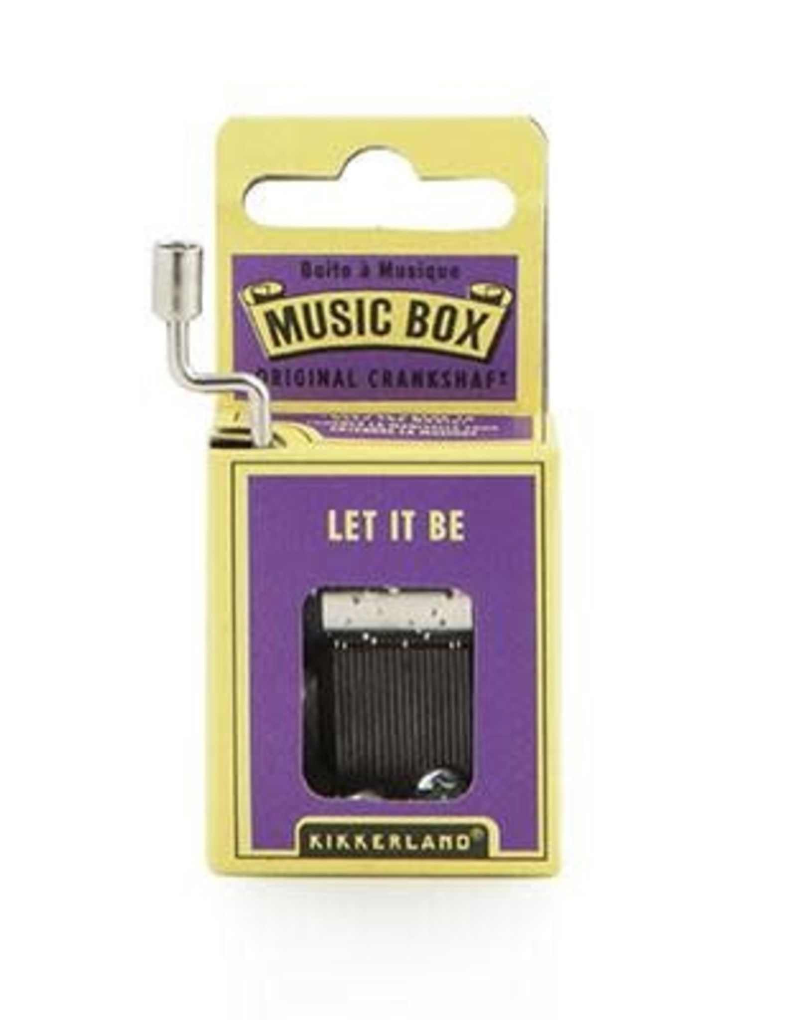 Let It Be Music Box