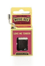 Love Me Tender Music Box