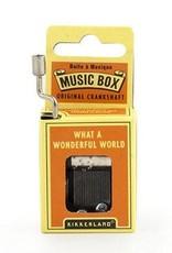 What A Wonderful World Music Box
