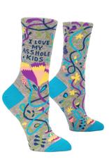I Love My Asshole Kids Women's Crew Socks