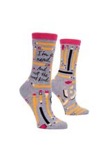 I'm a Nerd Pencils Women's Crew Socks