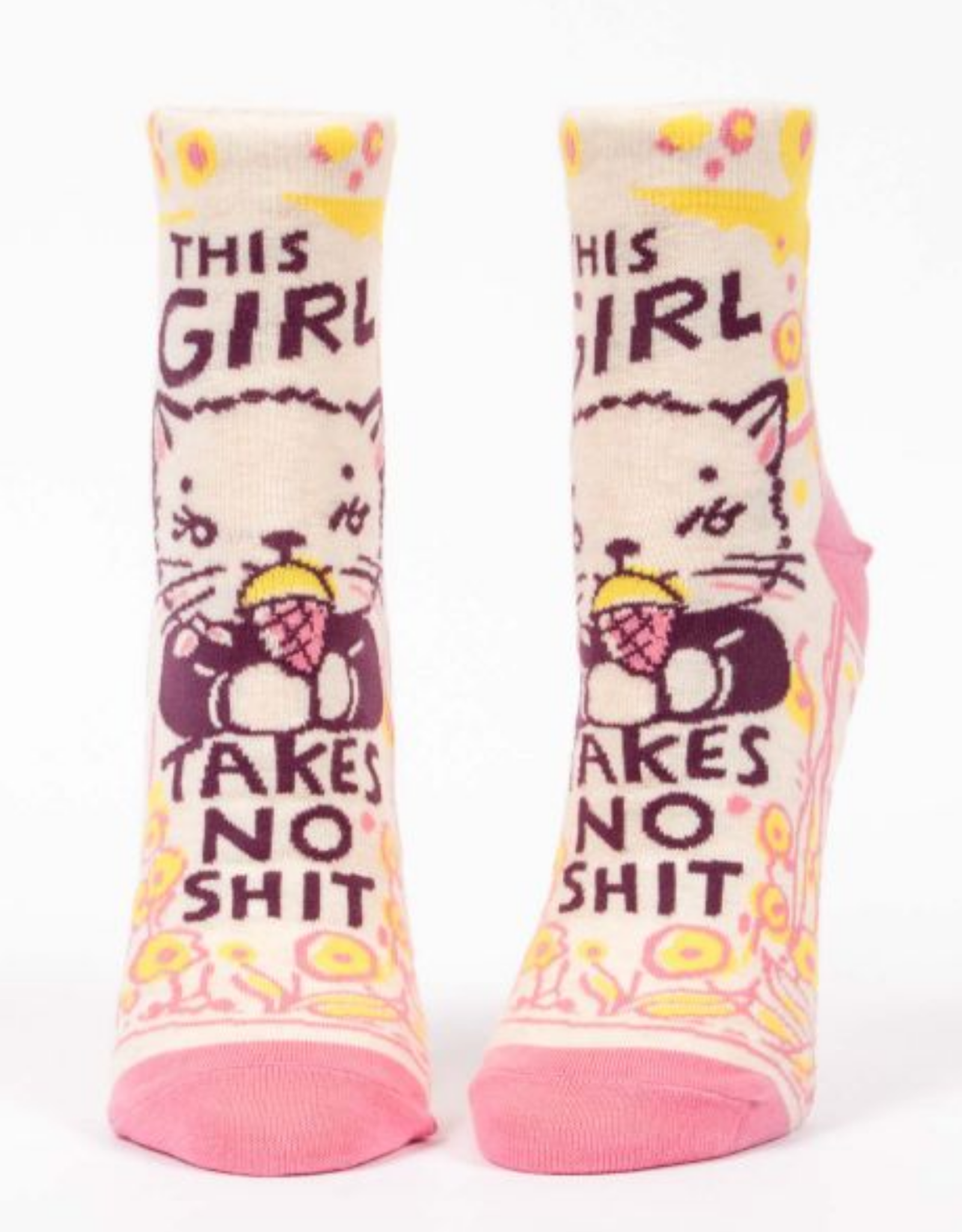 This Girl Takes No Shit Women's Ankle Socks
