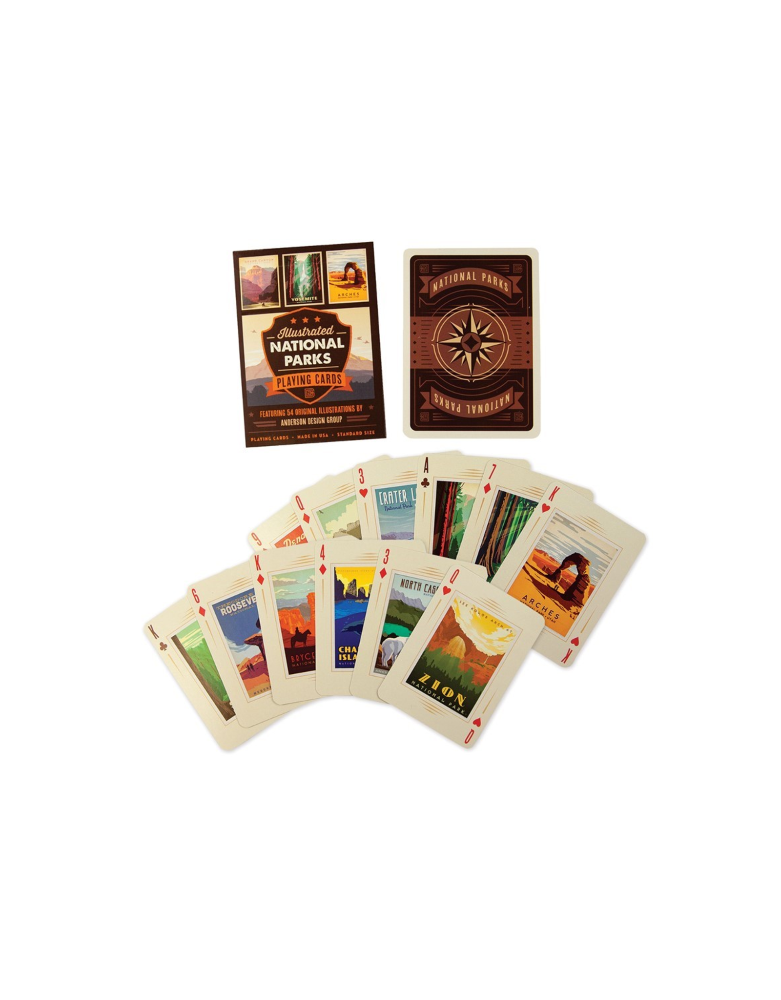 National Parks Playing Card Deck