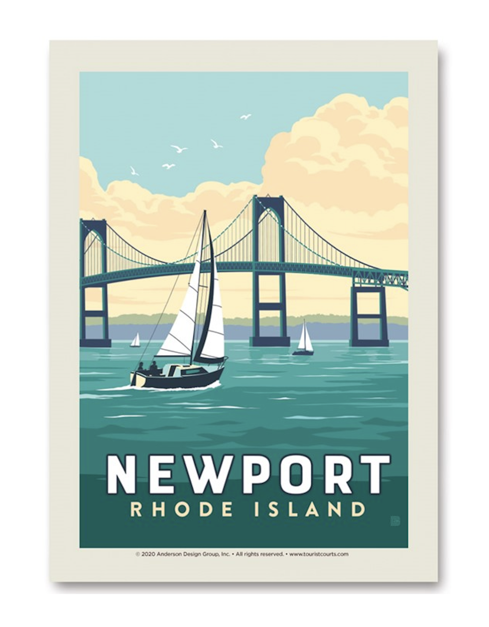 Newport Bridge Print