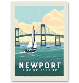 Newport Bridge Print