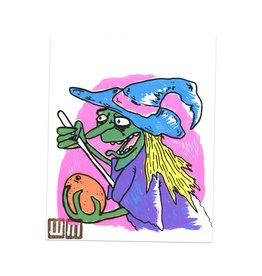 Walker Mettling Befana Witch Print