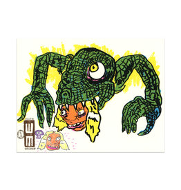 Walker Mettling Monster Print