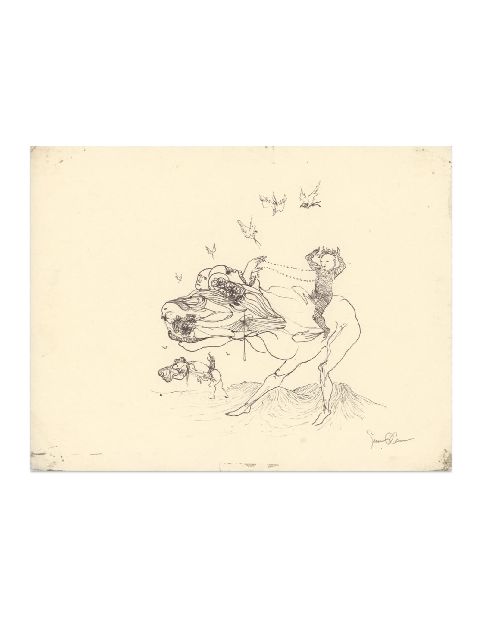 Senan O'Connor Sketchbook Original Drawing No. 1