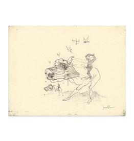 SENAN Senan O'Connor Sketchbook Original Drawing No. 1