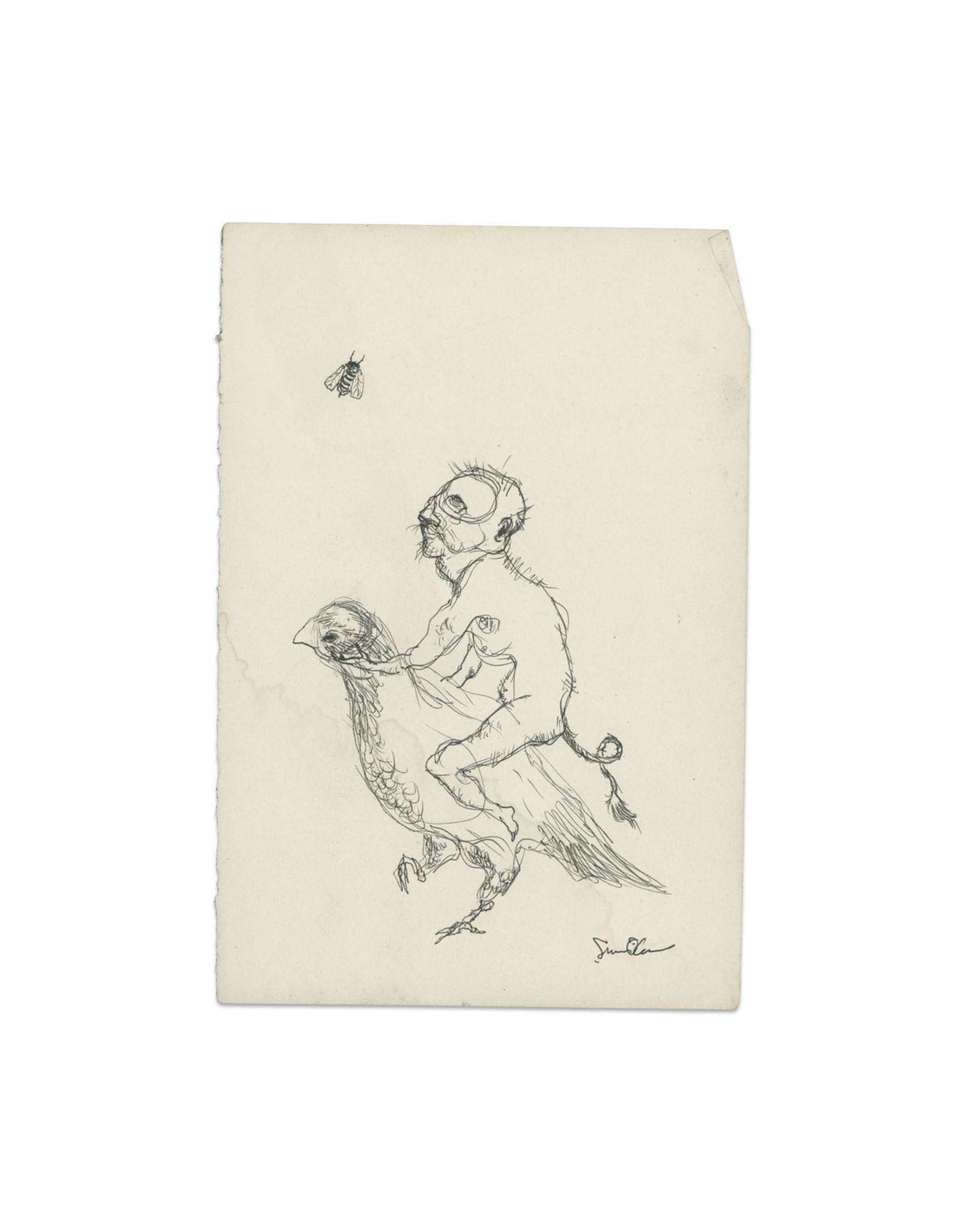 Senan O'Connor Sketchbook Original Drawing No. 2