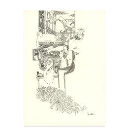Senan O'Connor Sketchbook Original Drawing No. 3