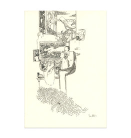 SENAN Senan O'Connor Sketchbook Original Drawing No. 3