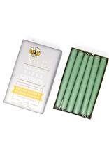 Misty Green Taper Candle