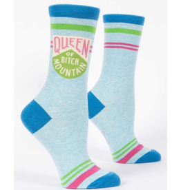 Queen Of Bitch Mountain Women's Crew Socks