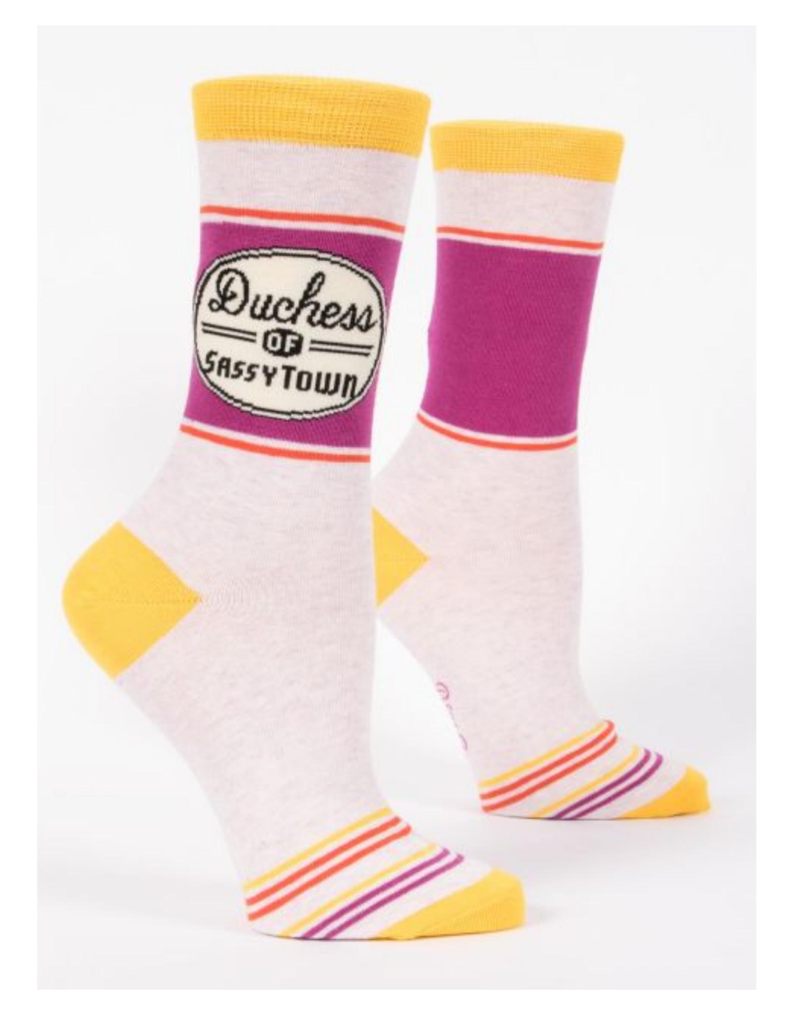Duchess of Sassytown Women's Crew Socks