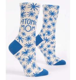 Atomic Mom Women's Crew Socks