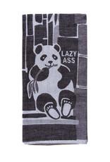 Lazy Ass Panda Dish Towel