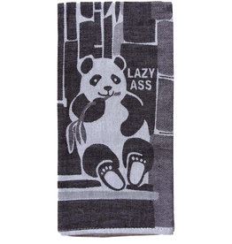 Lazy Ass Panda Dish Towel