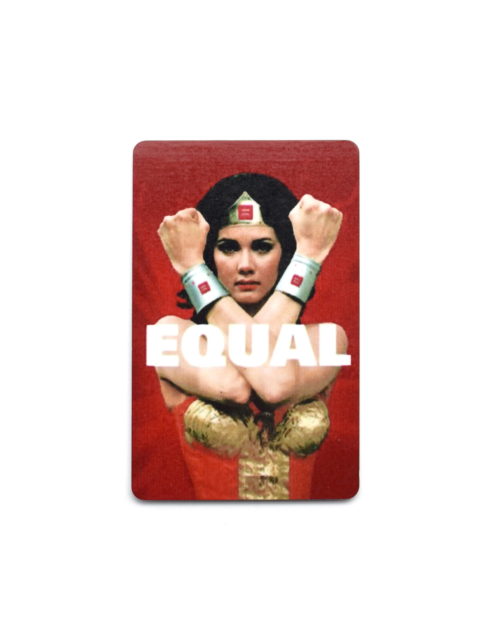 Wonder Woman Equal Magnet