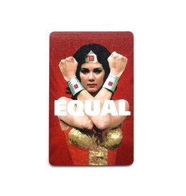 Wonder Woman Equal Magnet