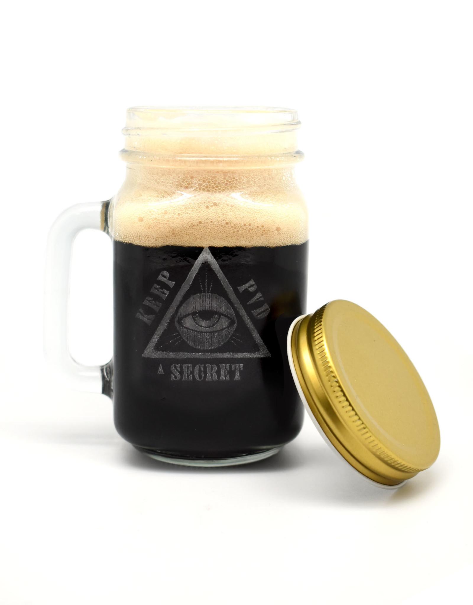 Keep PVD Secret Mason Jar