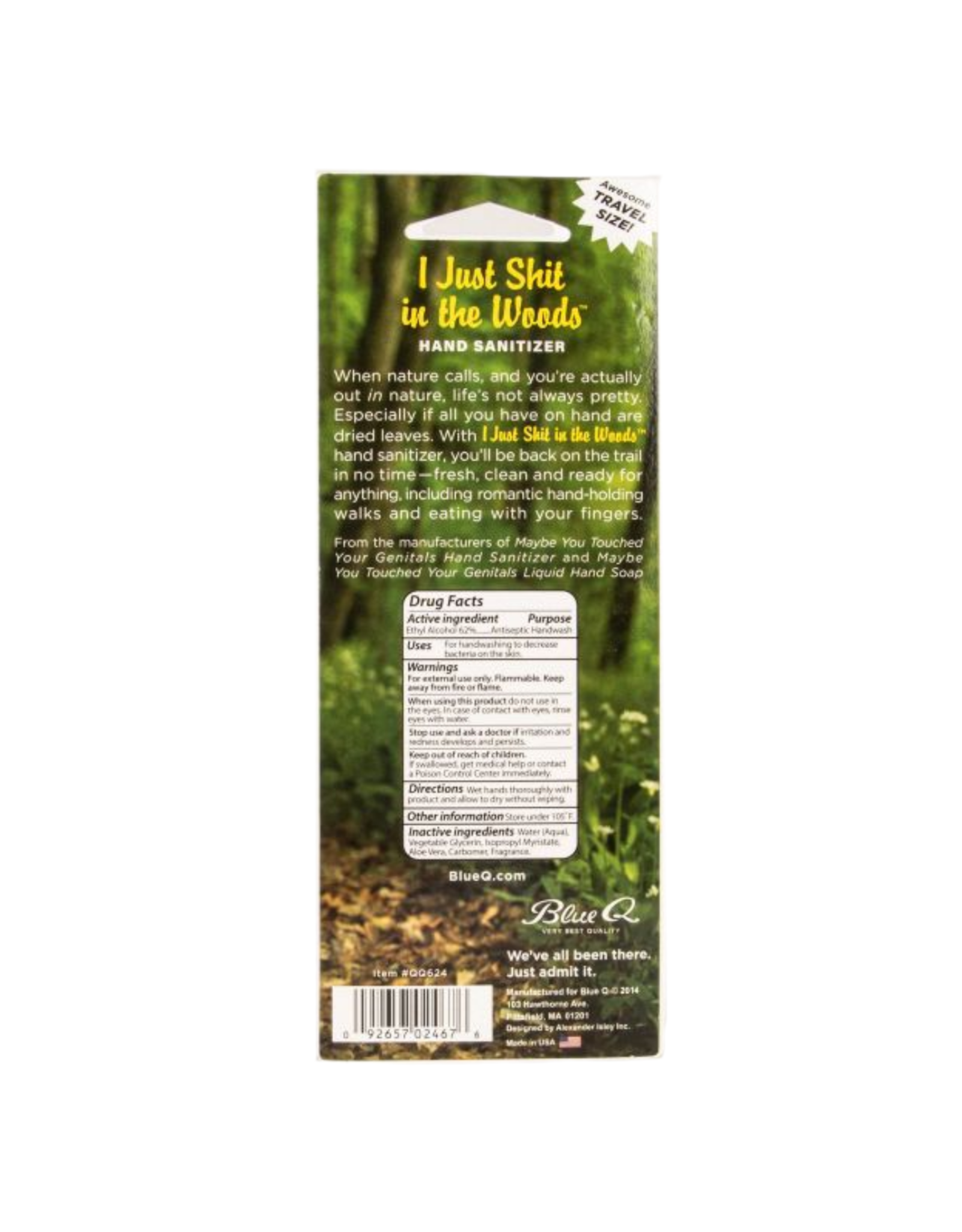 Shit In The Woods Hand Sanitizer