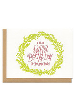 A Very Happy Boxing Day To You And Yours Greeting Card Boxed Set of 6