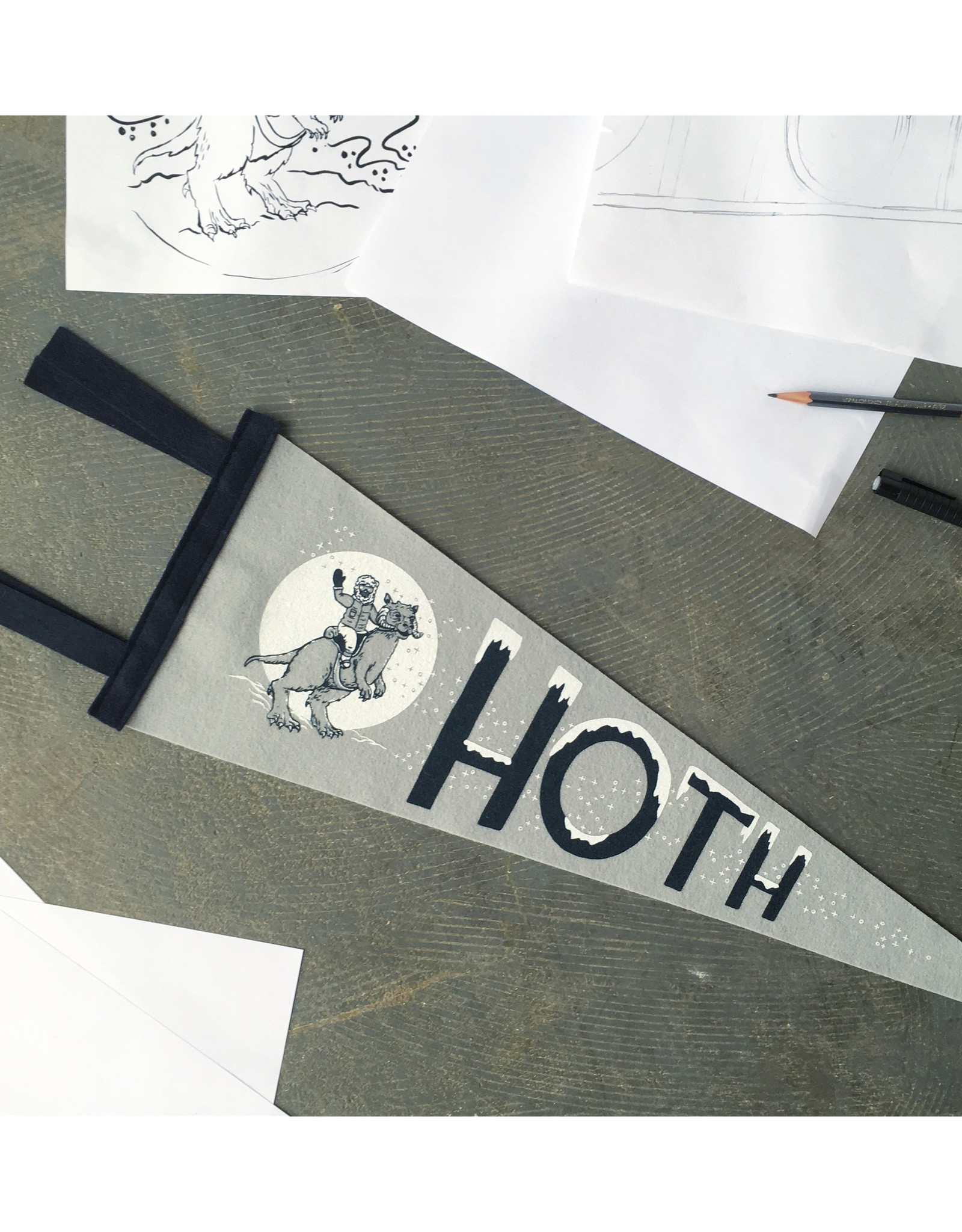 Star Wars - Hoth Pennant