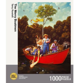 The Merry Boatmen Puzzle - 1000 Pieces