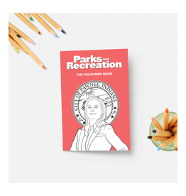 Parks & Rec Coloring Book