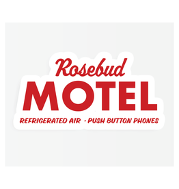 Rosebud Motel Sticker