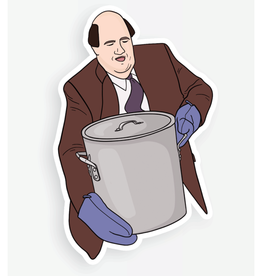 Kevin Chili (The Office) Sticker