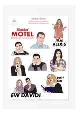 Schitt's Creek Sticker Sheet