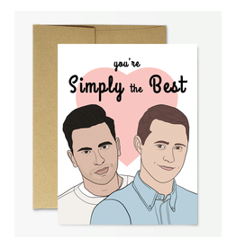 Simply the Best (Schitt's Creek) Greeting Card