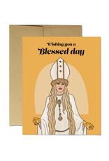 Moira Blessed Day (Schitt's Creek) Greeting Card