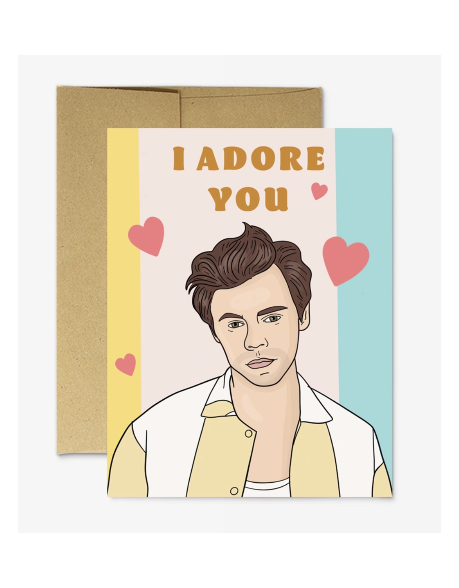 I Adore You (Harry Styles) Greeting Card