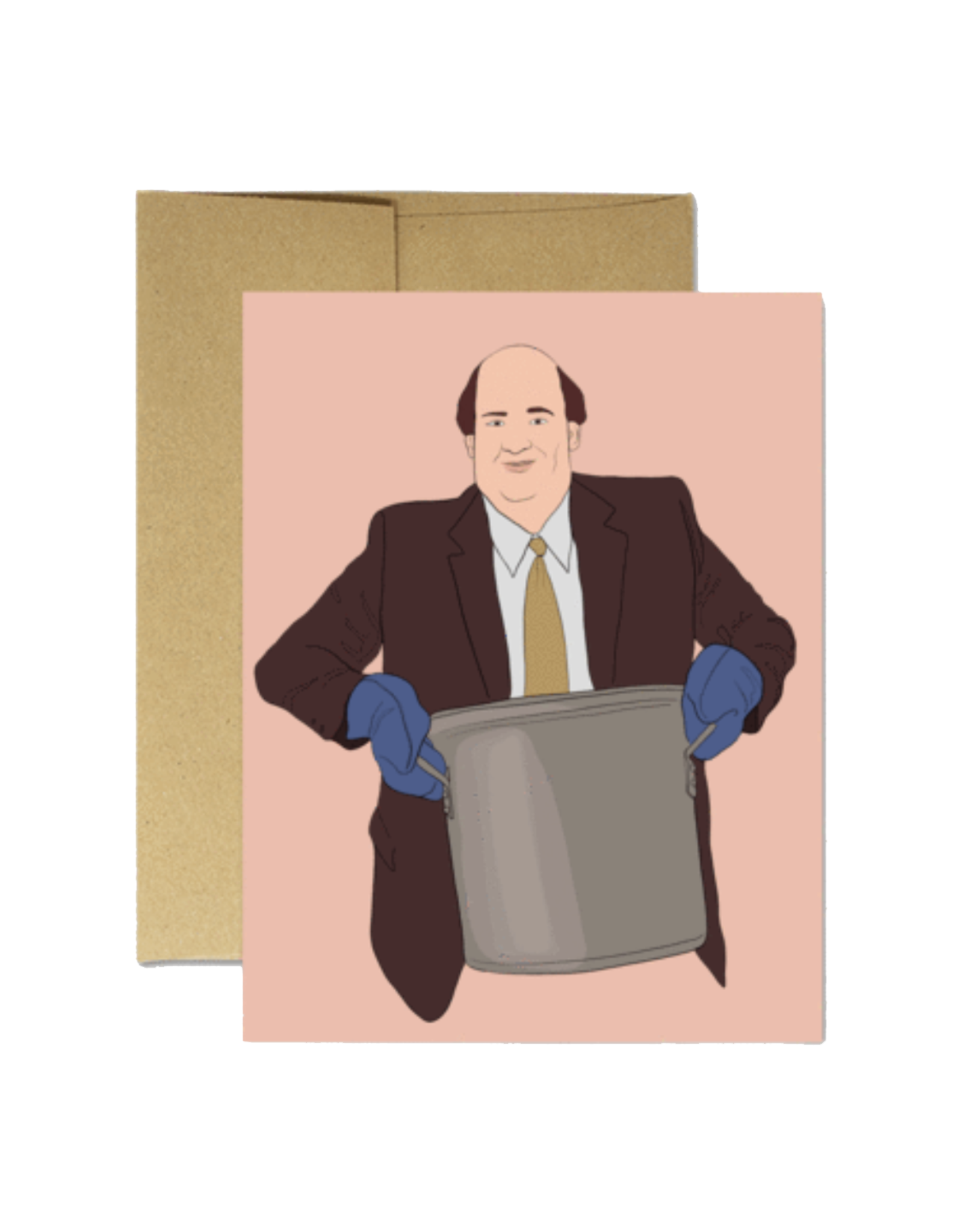 Kevin Chili (The Office) Greeting Card