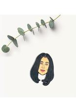 Cher Enamel Pin