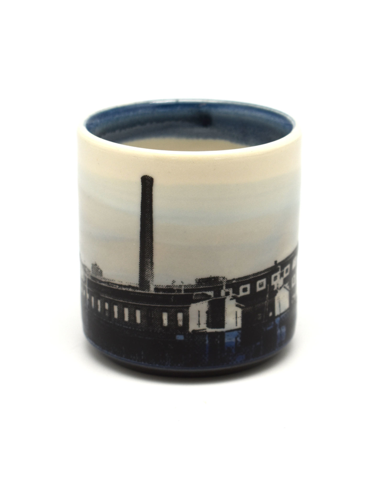 Mill With Smokestack Thirsty Cup - Short
