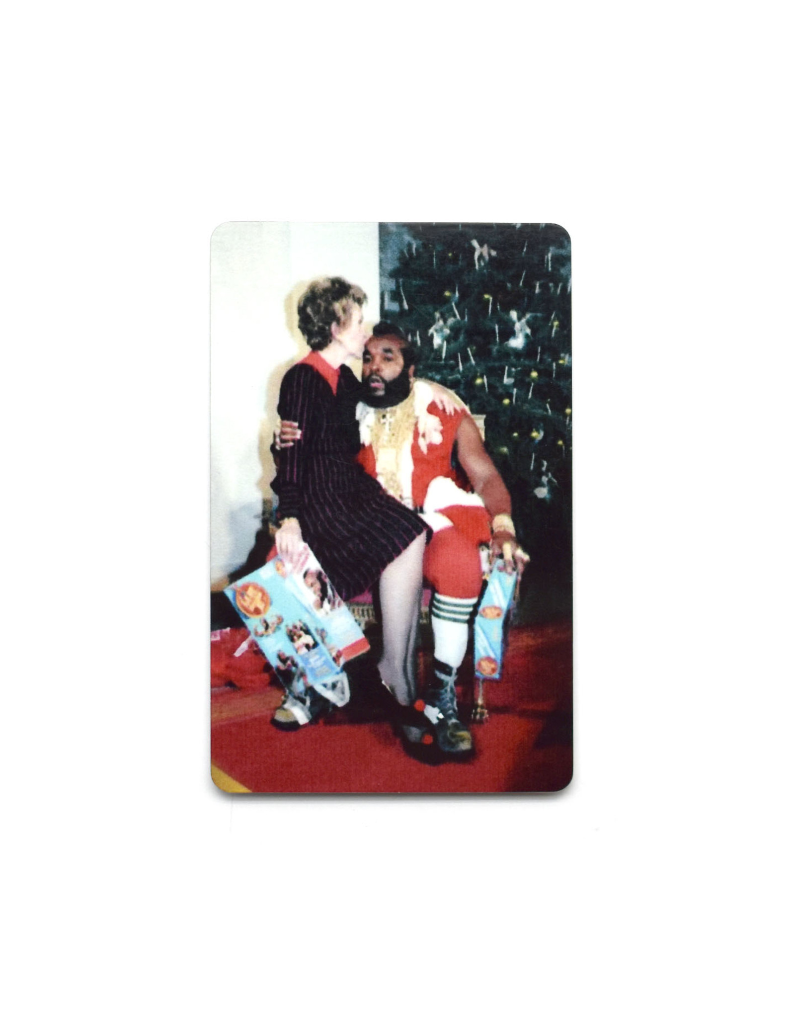 Mr. T Christmas Magnet