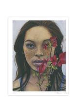Freckles Portrait Print