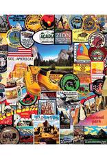 National Park Badges 1000 Piece Puzzle