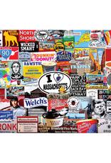 I Love Massachusetts 1000 Piece Puzzle