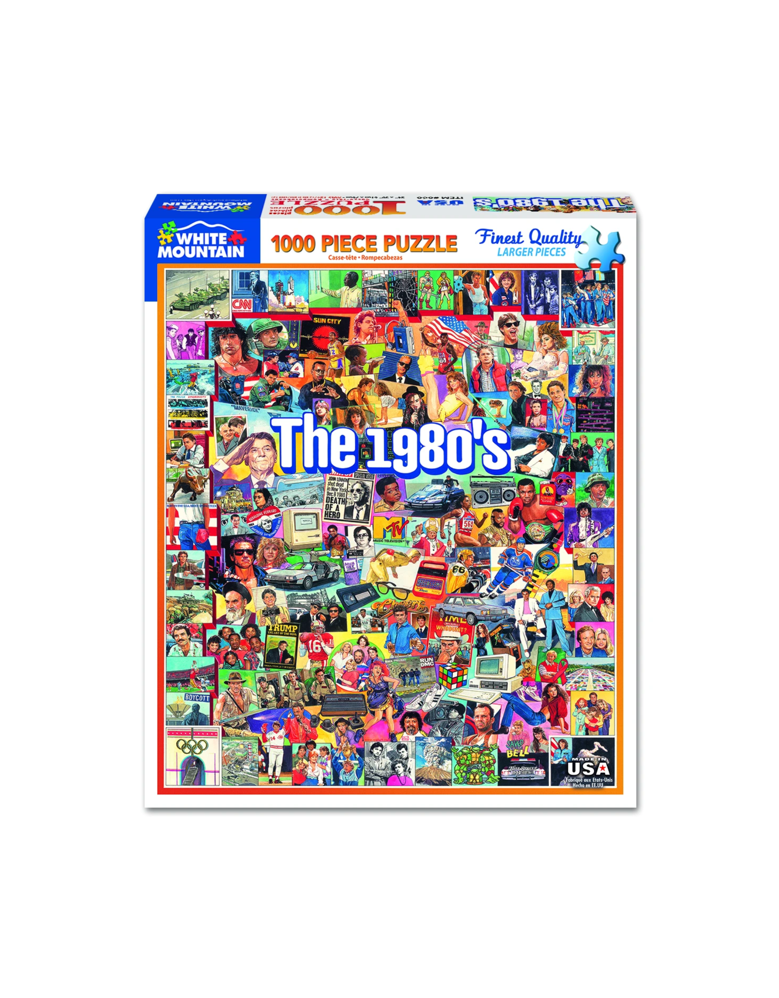The 1980s 1000 Piece Puzzle