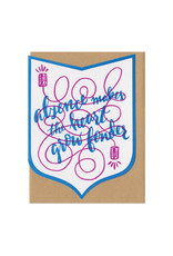 Absence Makes the Heart Grow Fonder Greeting Card